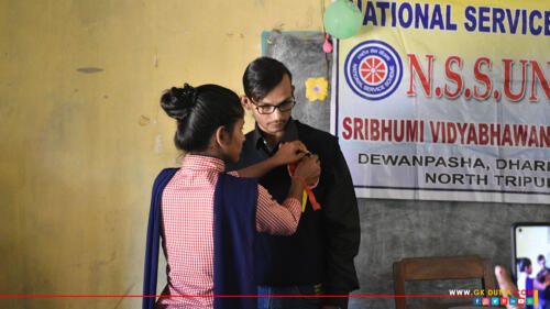 Today (06.02.2021) I was attend a Legal Awareness program organized by NSS Unit of Sribhumi Vidhya Bhavan H.S (+2Stage) School, Dewanpasha, Dharmanagar, North Tripura. I have delivered my speech on various issues related to Free Legal Services and Fundamental Rights & Duties of Citizen of India.
