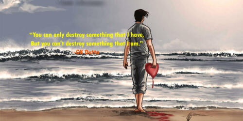 You can only destroy something